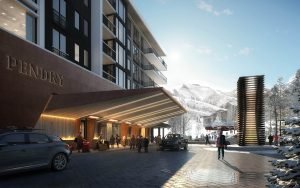 Rendering of Pendry Park City Entrance