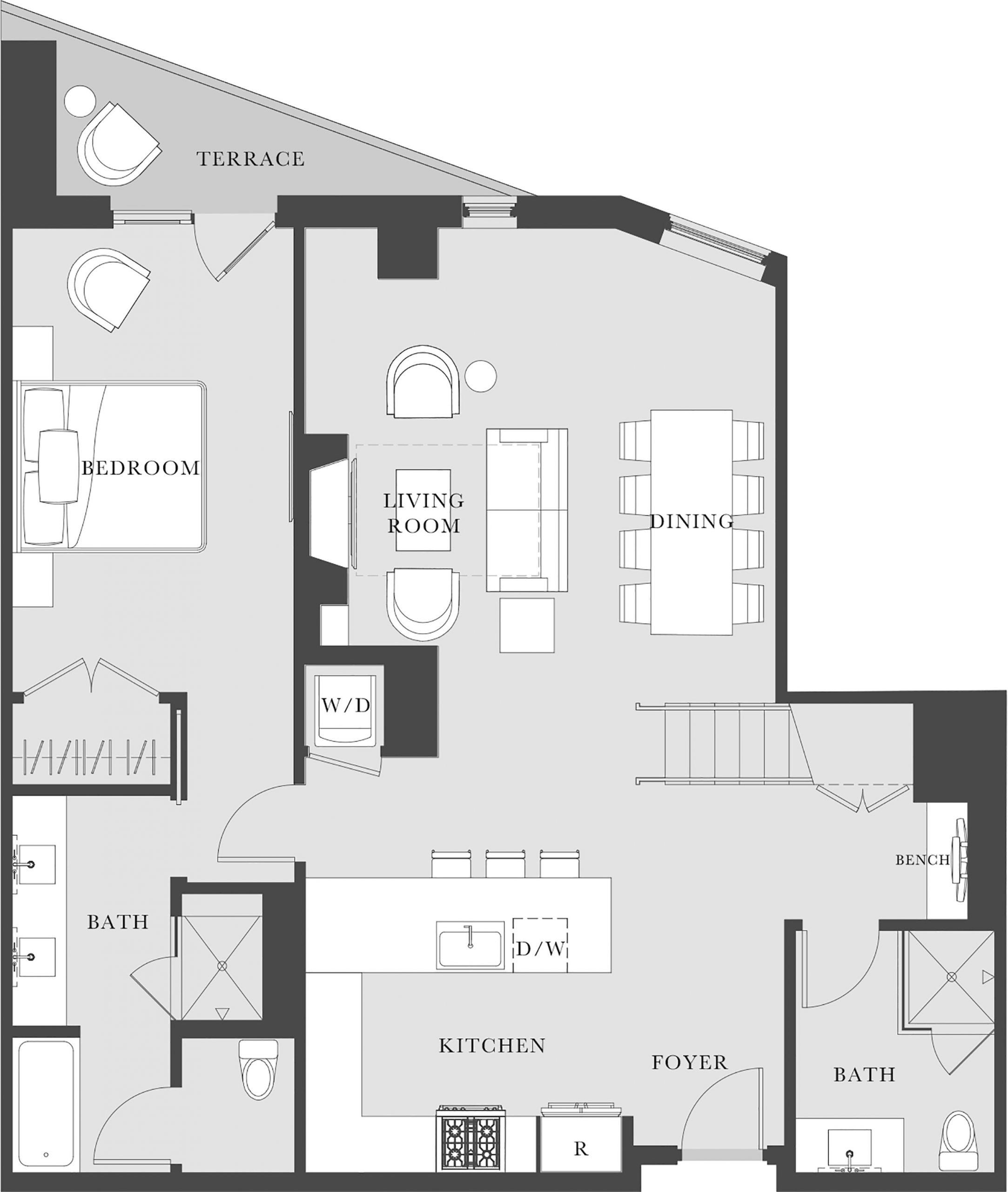 Townhome #2117 Lower